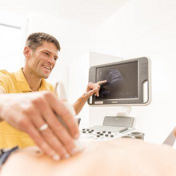 Arzt Internist Ultraschall