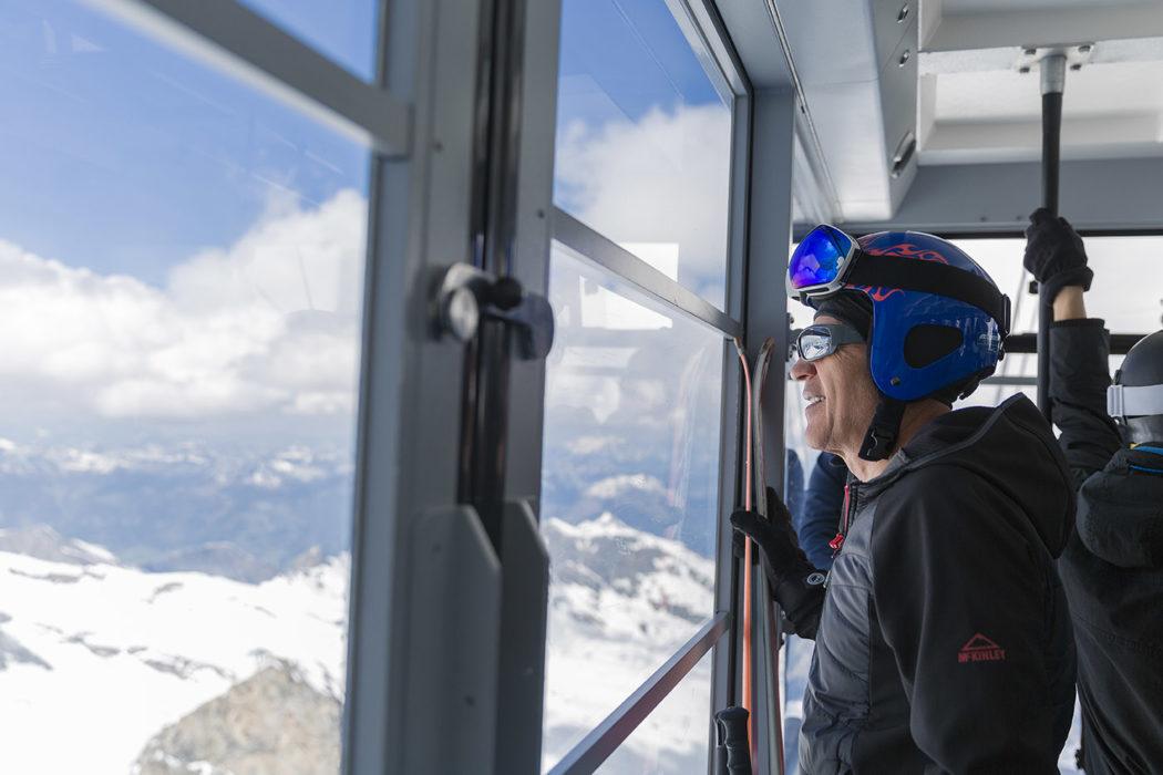 Skilift Kitzsteinhorn Ski
