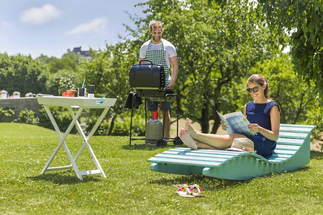 Sommer Gartenparty Grill