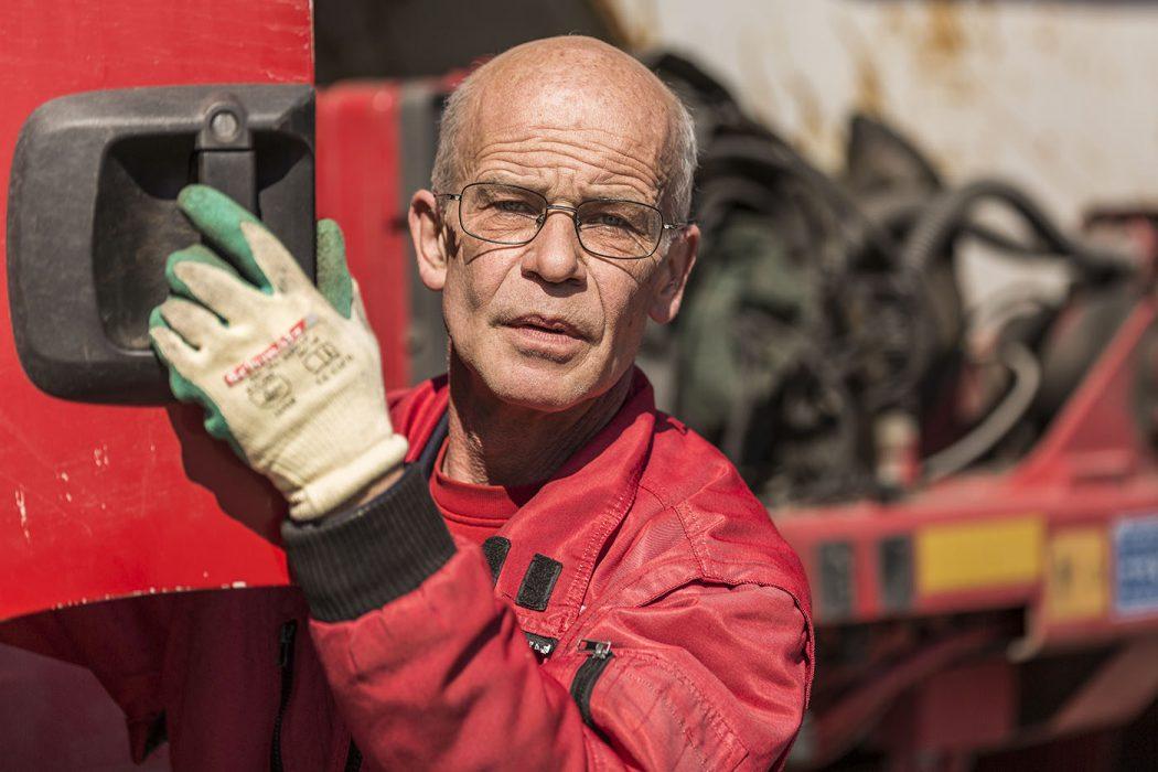 Werbefotografie Portrait Mann Arbeiter
