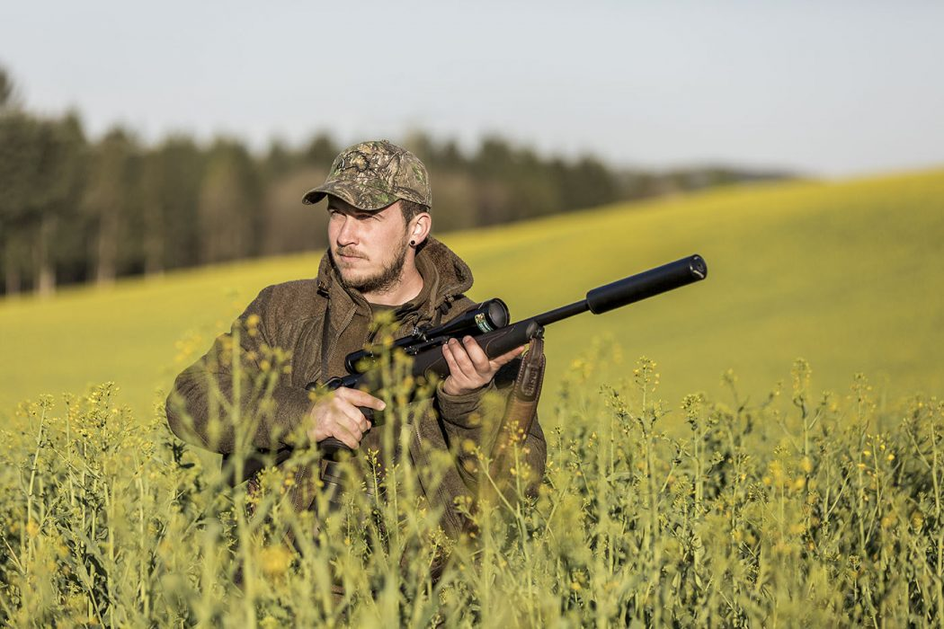 Portrait eines Jägers in Salem am Bodensee