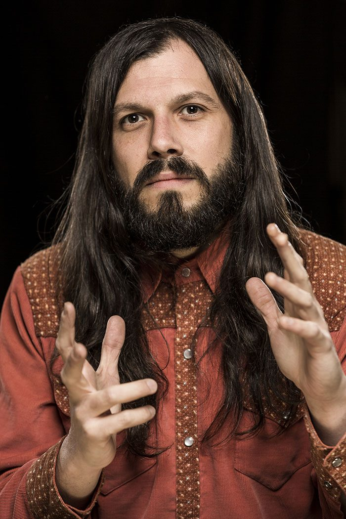 Portrait von Musiker Marcus Bonfanti