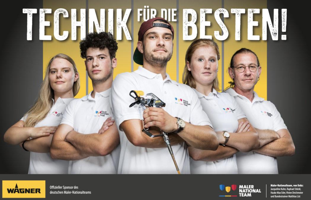 Maler Nationalteam Deutschland für Wagner GmbH
