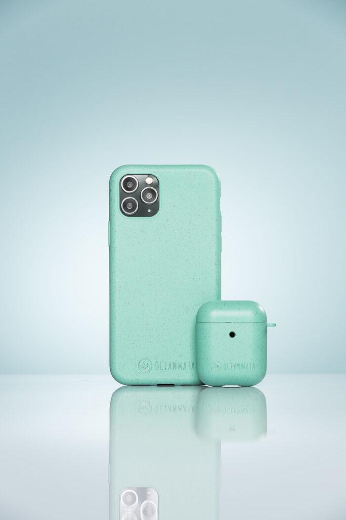 Produktfotografie einer Handyhülle mit Spiegelung